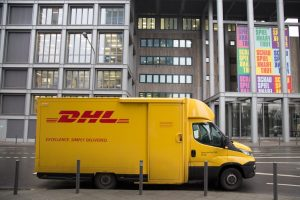 DHL Fleet Wraps